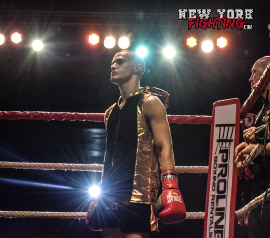 Jonathan DiBella enters the ring