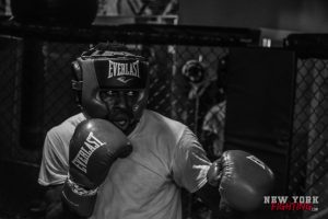 Rudeboy focused mid sparring